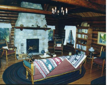 Luxurious living room of Wild Loon